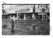 Sunset West Casino In The Rain Casino Center Las Vegas Nevada 1979 Carry-all Pouch