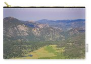 Superb Landscape In Rocky Mountain National Park Carry-all Pouch