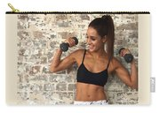 Sweat With Kayla Carry-all Pouch