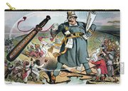 T. Roosevelt Cartoon Carry-all Pouch