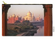 Taj Mahal At Sunrise Carry-all Pouch