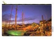 Tall Ships And Yahts Moored In Newport Harbor Carry-all Pouch