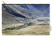 Tangsey Village Landscape Of Leh Ladakh Jammu And Kashmir India Carry-all Pouch