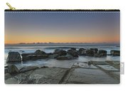 Tessellated Rock Platform And Seascape Carry-all Pouch