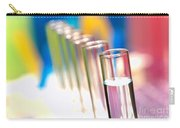 Test Tubes In Science Lab Carry-all Pouch