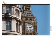 The Clock Tower In London Carry-all Pouch