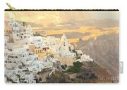 The Golden Hour In Fira Carry-all Pouch