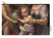 The Holy Family With The Young Saint John The Baptist Carry-all Pouch