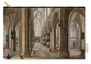 The Interior Of The Onze Lieve Vrouwekerk In Antwerp Carry-all Pouch