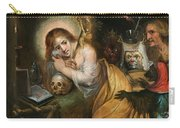 The Penitent Mary Magdalene Visited By The Seven Deadly Sins Carry-all Pouch