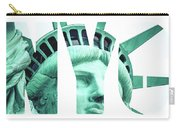 The Statue Of Liberty At New York City  Carry-all Pouch
