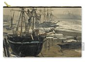 The Thames In Ice Carry-all Pouch