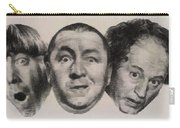 The Three Stooges Hollywood Legends Carry-all Pouch