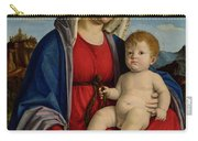 The Virgin And Child Carry-all Pouch
