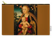 The Virgin And Child Under An Apple Tree Carry-all Pouch