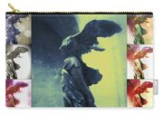 The Winged Victory - Paris - Louvre Carry-all Pouch by Marianna Mills
