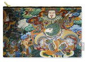 Tibetan Buddhist Mural Carry-all Pouch
