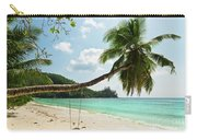 Tropical Beach At Mahe Island Seychelles Carry-all Pouch
