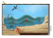 Tsunami Warning Diagram Carry-all Pouch
