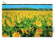 Tuscany Sunflowers Carry-all Pouch