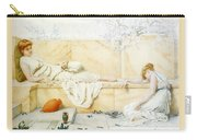 Two Classical Figures Reclining Henry Ryland Carry-all Pouch