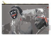 Two Yaqui Pascola Dancers Gallery In The Sun Tucson Arizona 1969-2013 Carry-all Pouch