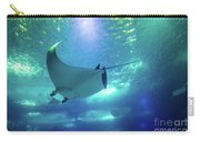 Underwater Manta Ray Carry-all Pouch