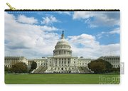Us Capitol Washington Dc Negative Carry-all Pouch