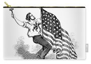 U.s. Flag, 19th Century Carry-all Pouch