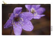 Vanishing Beayty Of Hepatica Carry-all Pouch