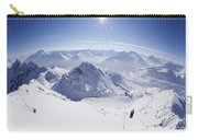 View From Summit Of Valluga, St Saint Anton Am Arlberg Austria Carry-all Pouch
