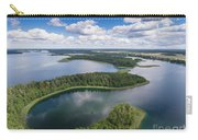 View Of Small Islands On The Lake In Masuria And Podlasie  Carry-all Pouch
