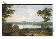 View Of Springfield On The Connecticut River Carry-all Pouch