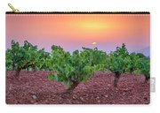 Vineyards At Pink Sunset Carry-all Pouch
