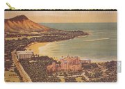Vintage Hawaiian Art Carry-all Pouch