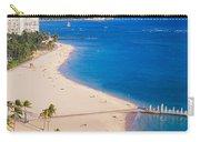Waikiki Beach And Diamond Head Carry-all Pouch