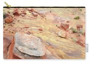 Wash 3 Color In Valley Of Fire Carry-all Pouch