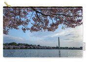 Washington Monument Cherry Blossoms Carry-all Pouch