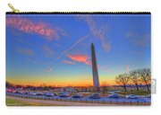 Washington Monument Sunset Carry-all Pouch