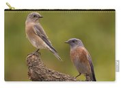 Western Bluebird Carry-all Pouch