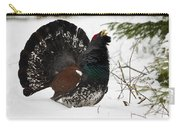 Western Capercaillie Carry-all Pouch