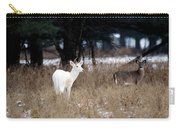 White Buck Brown Doe Carry-all Pouch