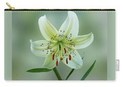 White Tiger Lily Carry-all Pouch