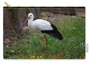 White Stork Carry-all Pouch