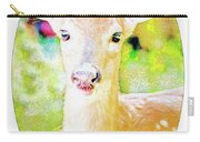 White-tailed Virginia Deer Fawn Carry-all Pouch
