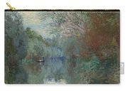Willows At The Edge Of The Yerres Carry-all Pouch