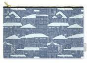 Winter Town Pattern  Carry-all Pouch