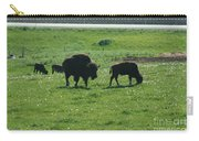 Wisconsin Buffalo Carry-all Pouch