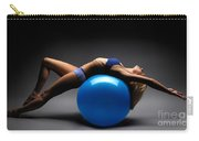 Woman On A Ball Carry-all Pouch