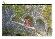 Woman Tourist In Sintra Carry-all Pouch